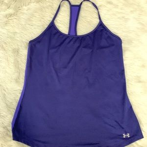Under Armour Running Top Sz Medium
